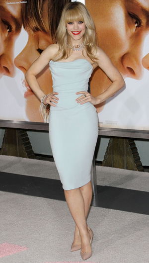 Rachel McAdams at premiere of The Vow