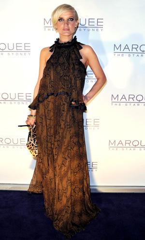 Ashlee Simpson fashion mistake