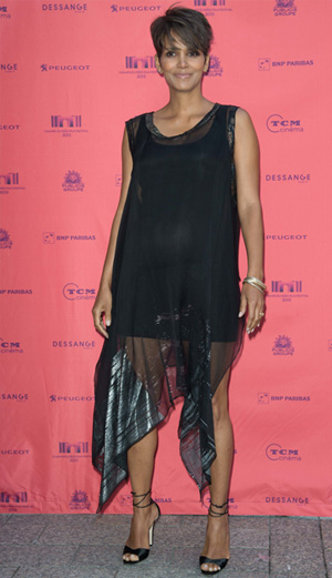 Halle Berry at the Champs-Elysees Film Festival in Paris