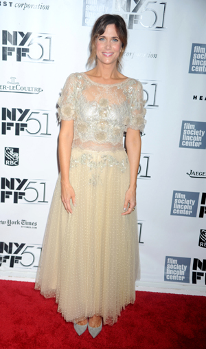 Kristen Wiig at NYC screening of The Secret Life of Walter Mitty