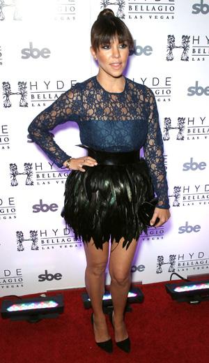 Kourtney Kardashian at Scott Disick's 30th Birthday Party