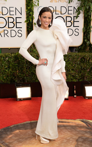 Paula Patton at the 2014 Golden Globes