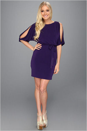Shop the look: Jessica Simpson Pleated Boatneck Dress (6pm.com, $45)
