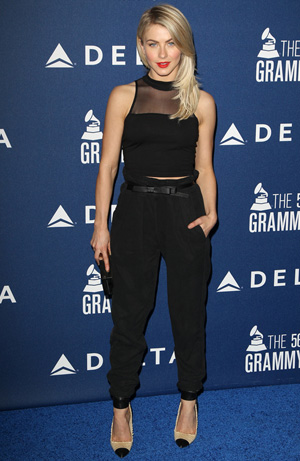 Julianne Hough at a pre-Grammys event