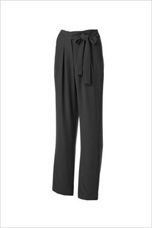 Shop the look: Jennifer Lopez Pleated Tapered Pants(kohls.com, $30)