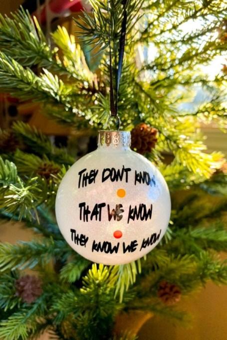 'Friends' Tree Ornaments.