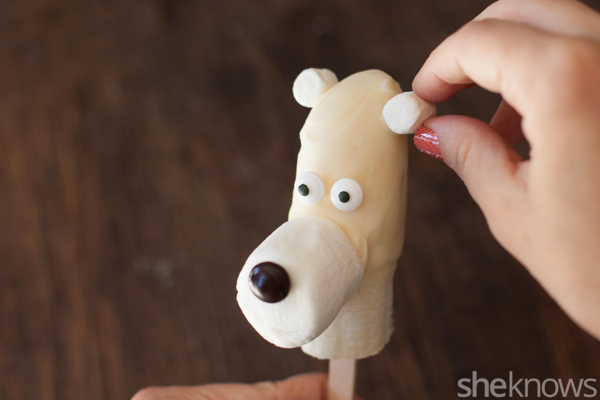 frozen banana polar bear popsicles ears