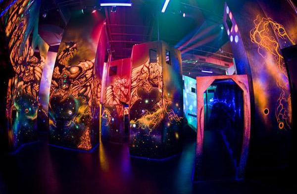 Laser tag venues in the Phoenix