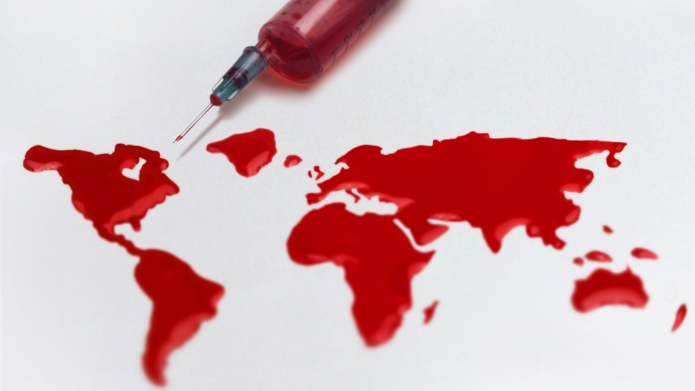 Syringe and a world of blood