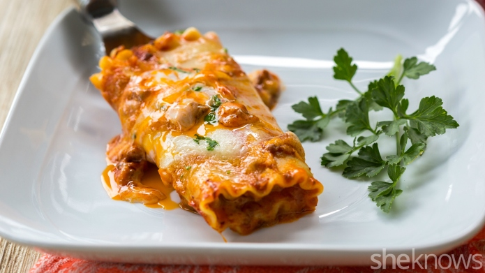 One-Pot Wonder: Shortcut lasagna rolls that