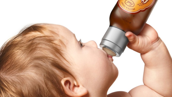 Beer-shaped baby bottle: Hilarious or inappropriate?