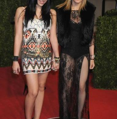 Madonna turning daughter into pop star
