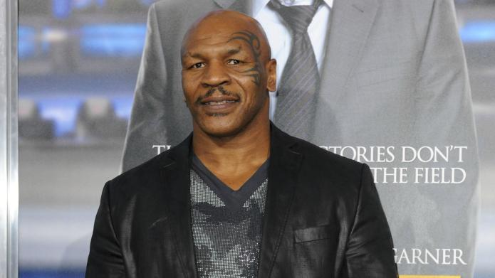 Watch Mike Tyson lose his shit