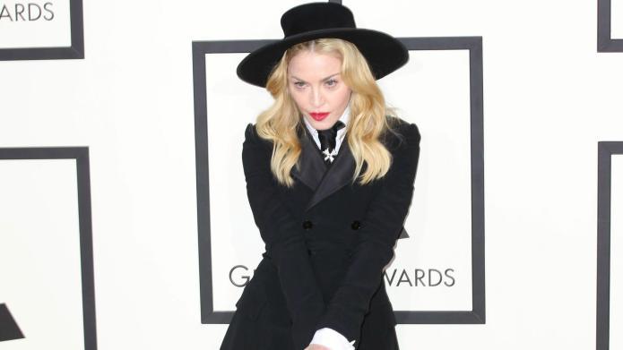 Grammys: Madonna suffers serious wardrobe malfunction