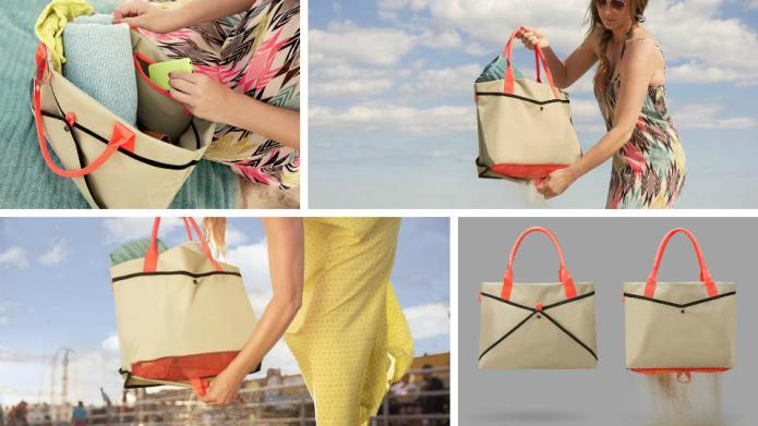 The smartest beach bag ever