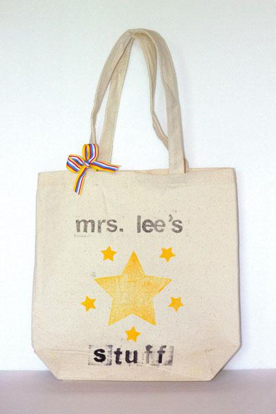 Cute teacher gift craft for the