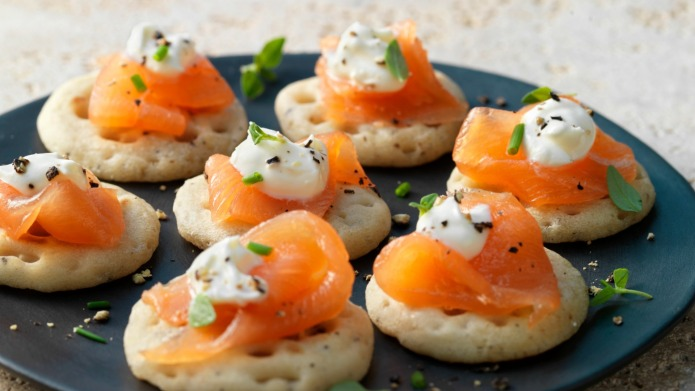 Blinis are your new favorite party