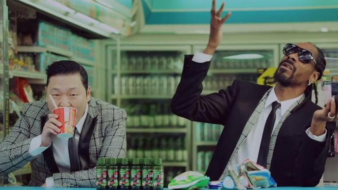 "PSY and Snoop Dogg's ""Hangover"" video"