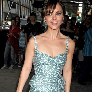 Christina Ricci ties the knot with