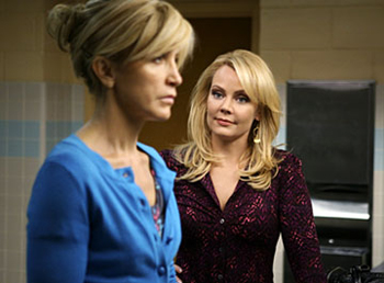 Felicity Huffman and Gail O'Grady get Desperate