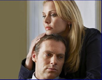Michael Shanks and Gail O'Grady in Living Out Loud