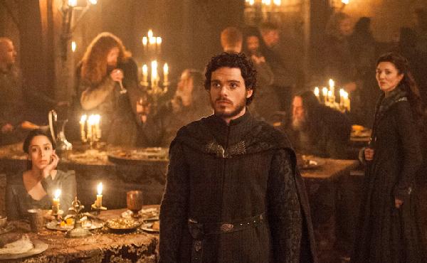 Game of Thrones Richard Madden cried Red Wedding