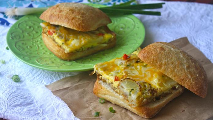 Meatless Monday: Spanish omelet sandwiches