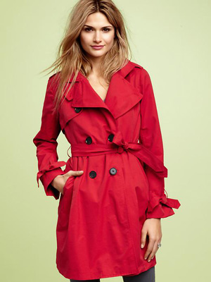Gap red trench