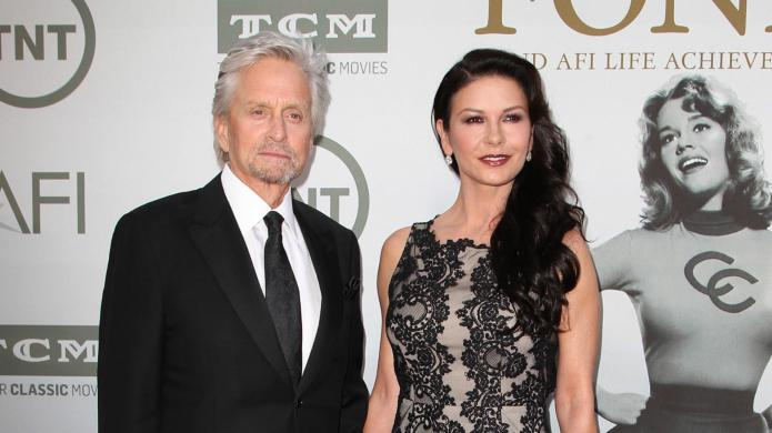 Michael Douglas and Catherine Zeta-Jones are