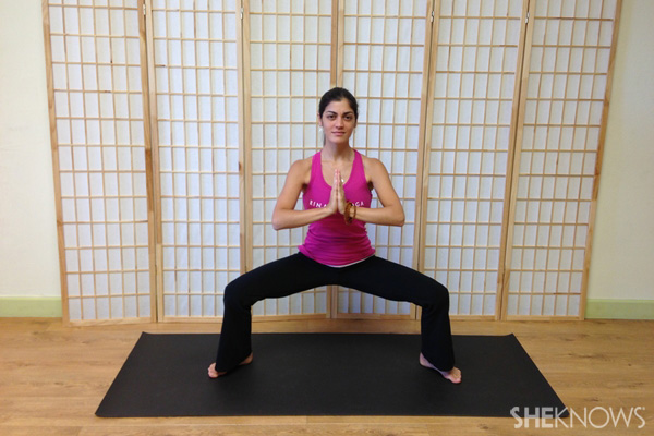 horse stance stretch