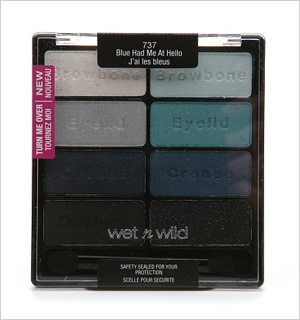 Wet N Wild's Blue Had Me at Hello Color Icon Palette
