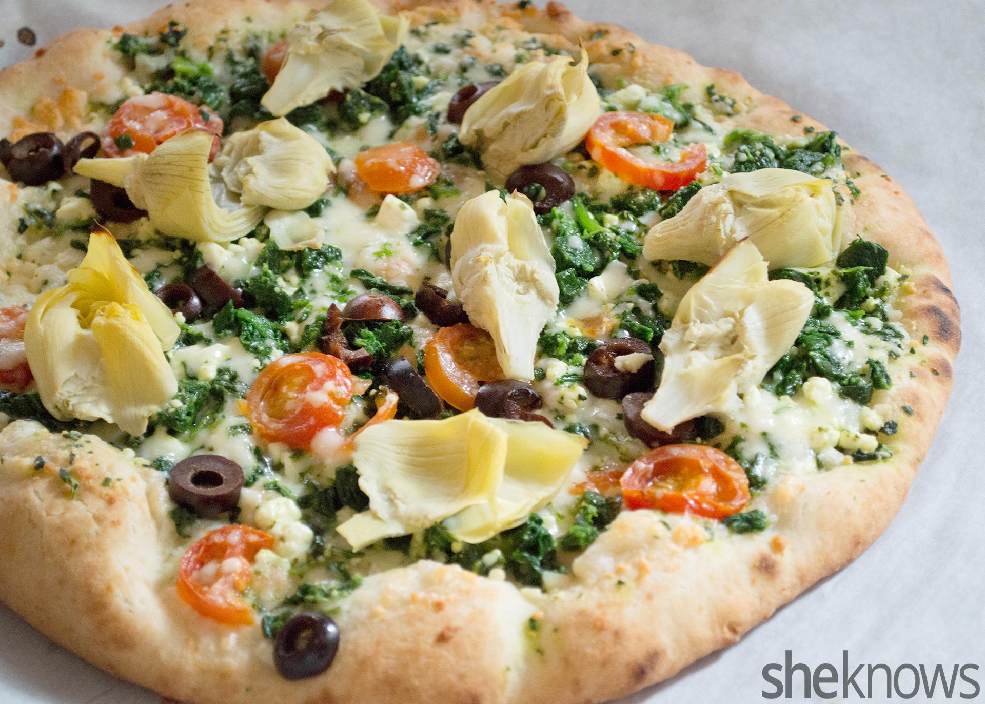 gluten free winter pizza
