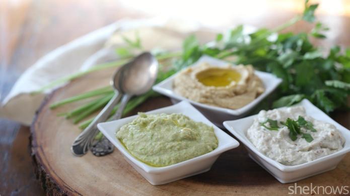 3 Tahini-free Middle Eastern dip recipes