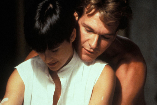 Demi Moore, Patrick Swayze in Ghost