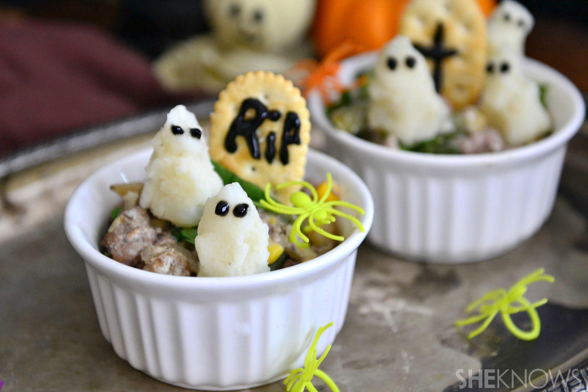 ghost shepherd's pies