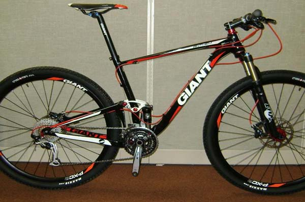 Giant is recalling their Anthem X 29er bike for injury potential