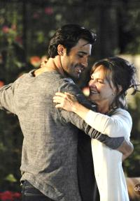 Gilles Marini and Sally Field