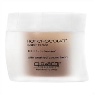 Giovanni hot chocolate suger scrub