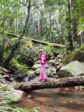 Girl in a national park   Sheknows.com
