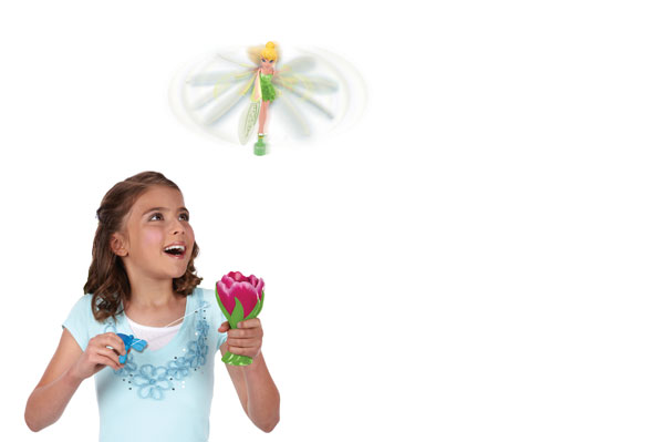 Girl playing with Disney Fairies Sky High Tink | Sheknows.com.au