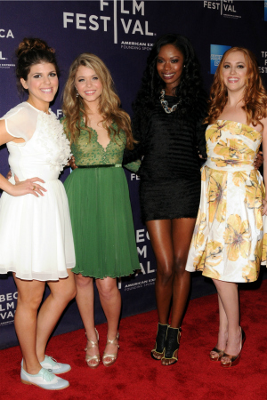 G.B.F.'s Molly Tarlov, Sasha Pieterse, Xosha Roquemore, and Andrea Bowen