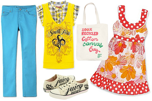Back to school fashion for girls