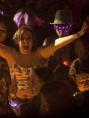 Girls' Hannah at the club