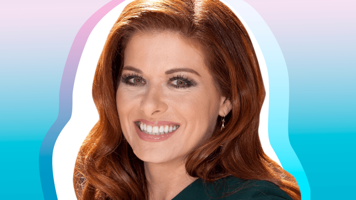 Debra Messing Stands Up for a