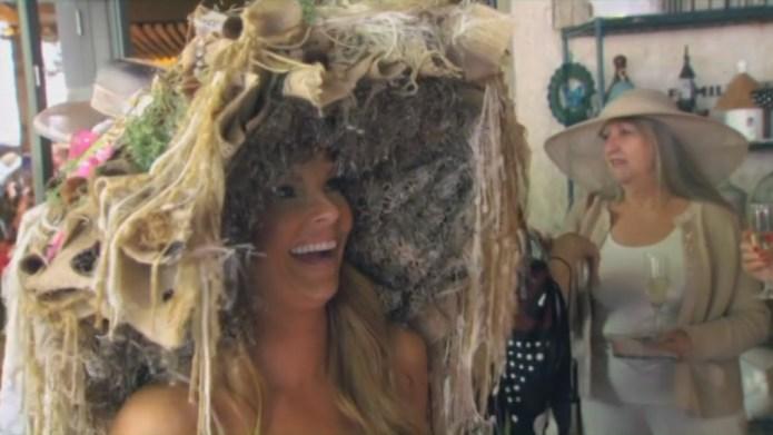 Brandi Redmond's poop hat on RHOD