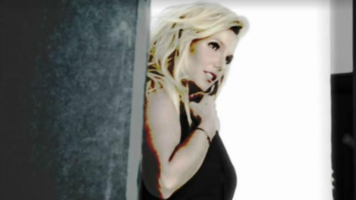 Britney Spears is edited beyond recognition