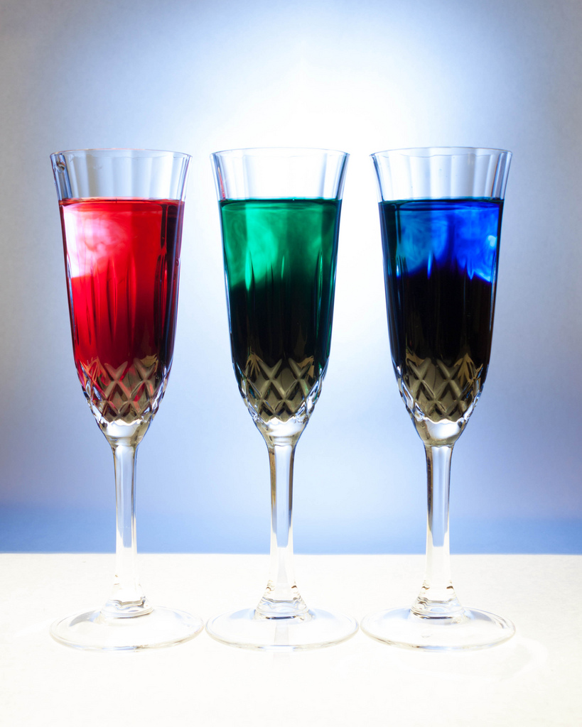Include a variety of glasses in your home bar