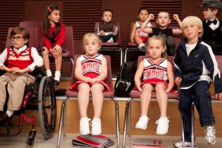 The Glee gang back in the day!