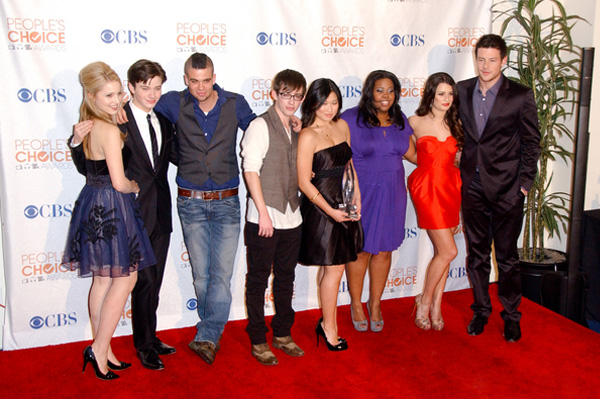 Glee at People's Choice Awards