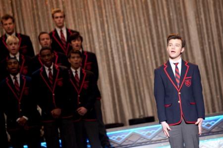 Kurt sings solo on Glee: Original Songs